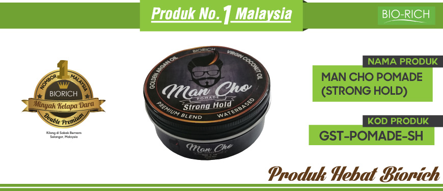Man Cho Pomade (Strong Hold)
