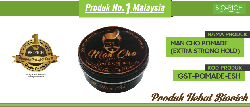 Man Cho Pomade (Extra Strong Hold)