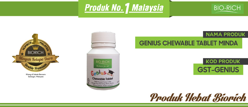 Genius Chewable Tablet Minda