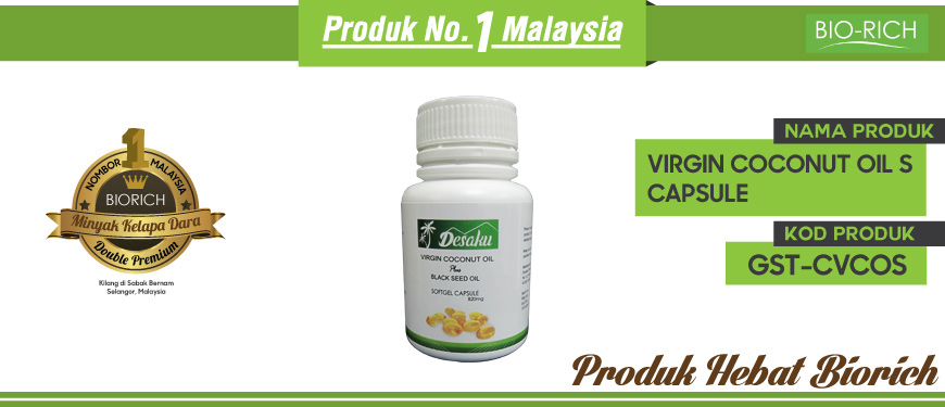 Virgin Coconut Oil S Capsule
