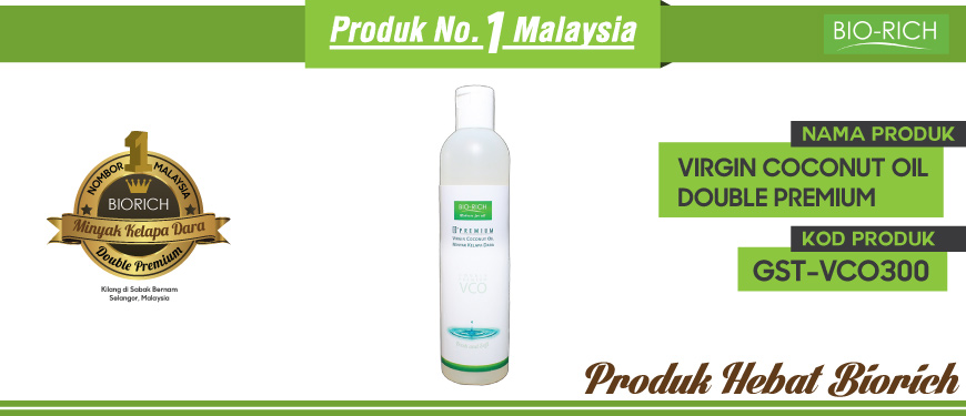 Virgin Coconut Oil Double Premium