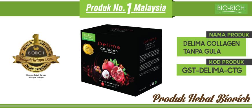 Delima Collagen (Tanpa Gula Tebu)
