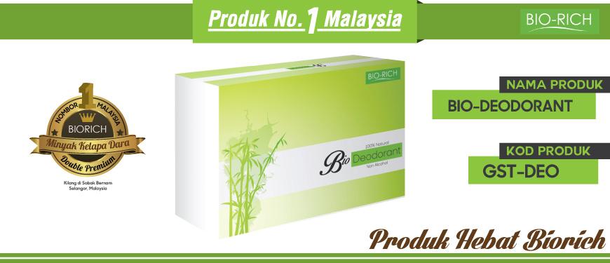 Bio-Deodorant